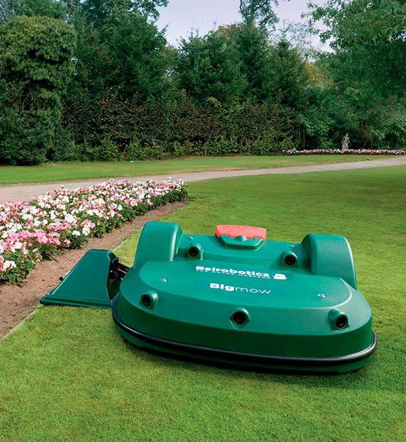 robot mower automated grass cutting